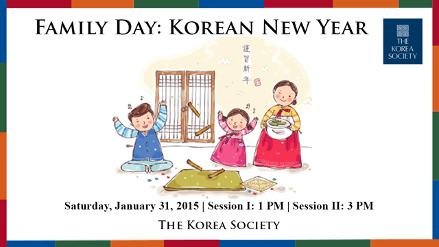 Family Day: Korean New Year 2015