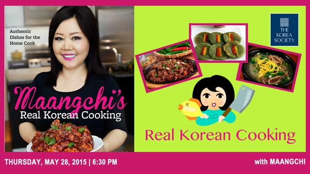 Real Korean Cooking with Maangchi
