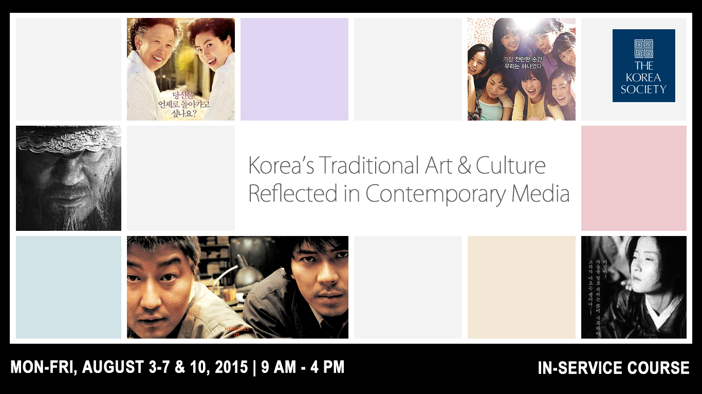 Korea's Traditional Art & Culture Reflected in Contemporary Media