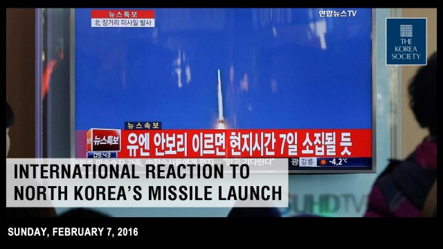 Intl Reaction to North Korea's Missile Launch