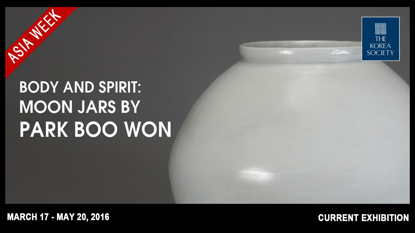 Body and Spirit Moon Jars by Park Boo Won