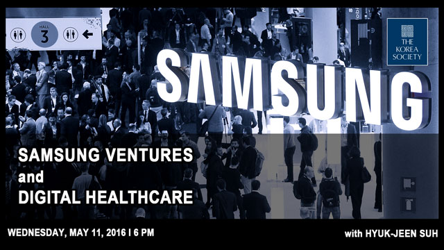 Samsung Ventures and Digital Healthcare 0