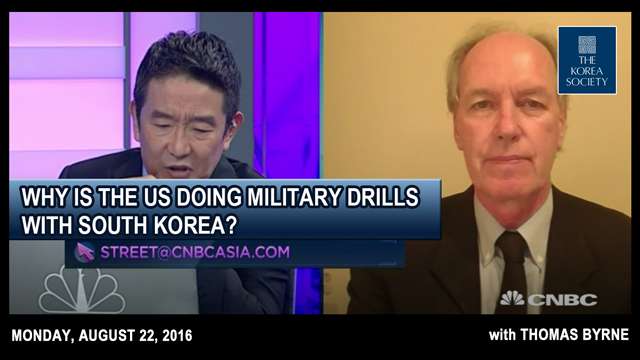 Why is the US doing military drills with South Korea?