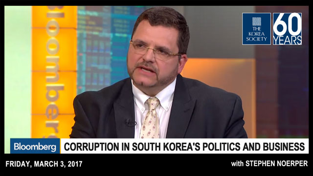 Corruption in South Korea's Politics and Business