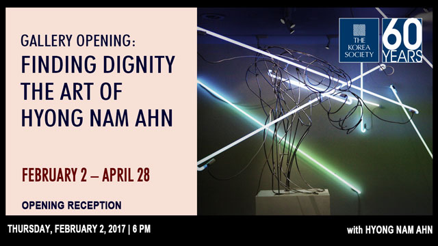 Gallery Opening: Finding Dignity The Art of Hyong Nam Ahn