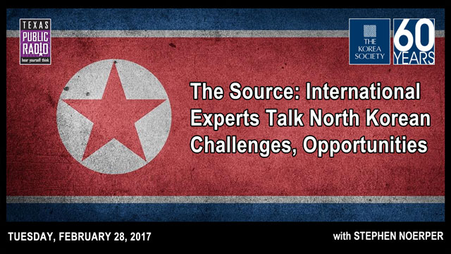 The Source: International Experts Talk North Korean Challenges, Opportunities