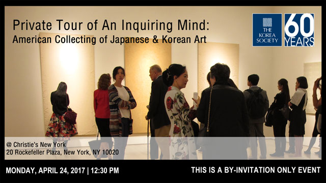 Private Tour of An Inquiring Mind: American Collecting of Japanese & Korean Art @ Christie's