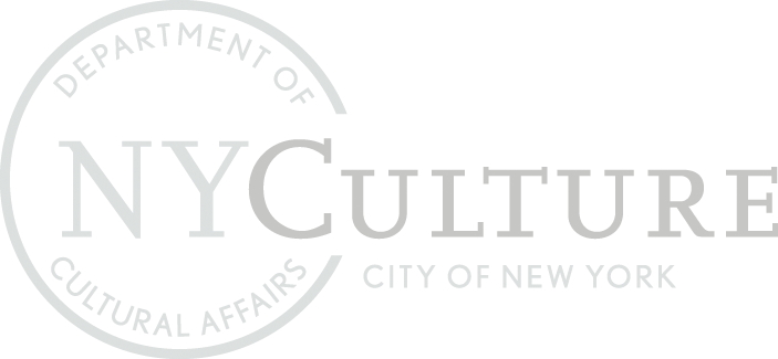 NYCulture current inverted white logo