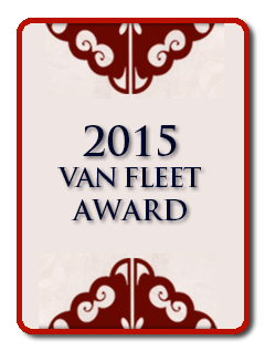 2015 Van Fleet Award Honoree