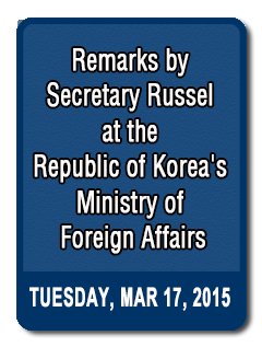 South Korea's Presidential Inaugural and Next-Steps in Korea-U.S. Relations