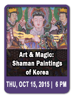 Art & Magic: Shaman Paintings of Korea with Dr. Laurel Kendall