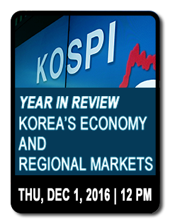 Forecasting for 2017: Key Economic Challenges for Korea and Asia